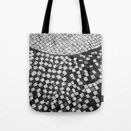 Mosaico A calçada portuguesa Tote Bag
