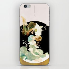 in other words, hold my hand iPhone Skin