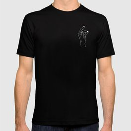 Snap out of it - On Black T-shirt