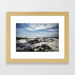 Thor's Well, No. 1 Framed Art Print