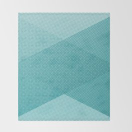 COOL HALFTONE Throw Blanket
