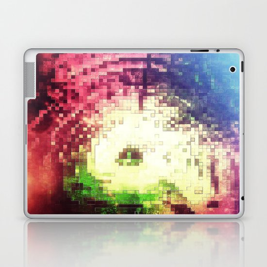 PIXEL NEBULA Laptop & iPad Skin