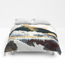 Winters Day Comforters