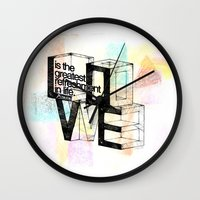 pablo picasso Wall Clocks featuring Pablo Picasso by MuDesignbyMugeBaris