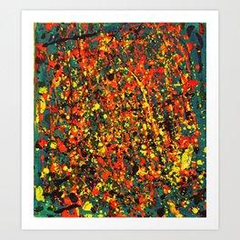 Colourful Jackson  Art Print
