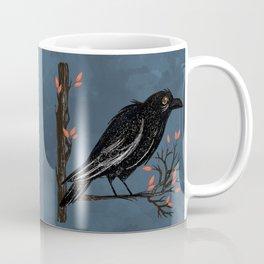 Raven On A Cold And Rainy Day Coffee Mug