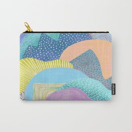 Modern Landscapes and Patterns Carry-All Pouch