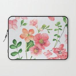 Colorfull spring flowers Laptop Sleeve