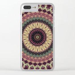 Mandala 273 Clear iPhone Case