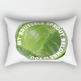Brussels sprout Rectangular Pillow