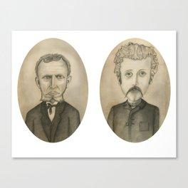 Nose Hair Canvas Print