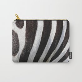 """Pop Safari 01 Zebra"" Carry-All Pouch"