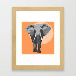 The big father Framed Art Print