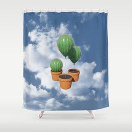 Sanctus Cactus Shower Curtain