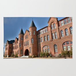 Cherokee Nation - NSU, Originally the Cherokee Female Seminary of 1841, No. 2 of 4 Rug