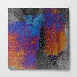 Neon Grunge 3 Metal Print
