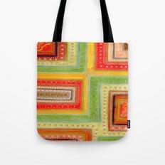 Autumnal tangle tracks Tote Bag