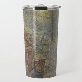 Vincent Van Gogh - Night after Millet Travel Mug