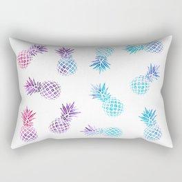 Pineapple Paradise Pattern Rectangular Pillow