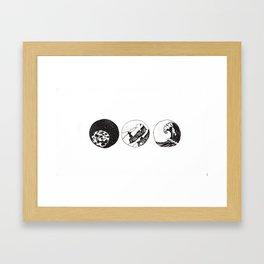 Elements Framed Art Print