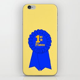 First Place Ribbon iPhone Skin