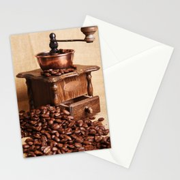 coffee grinder 2 Stationery Cards