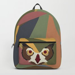 Owl Abstract Backpack