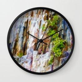Cliff Hanger Wall Clock
