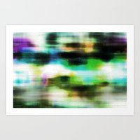 techno Art Prints featuring Techno Dream by Idle Amusement