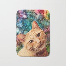 Orange Tabby Cat Bath Mat