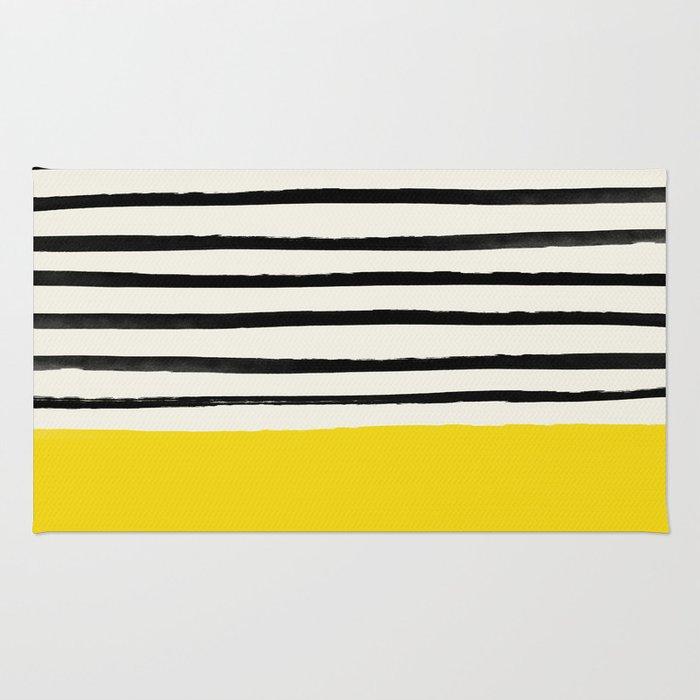 Sunshine x Stripes Rug