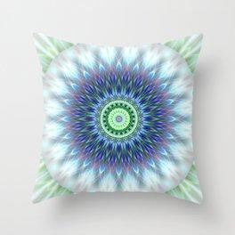 Light Mandala Throw Pillow