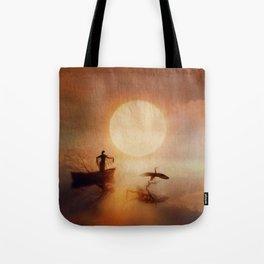 In Quiet Light Tote Bag