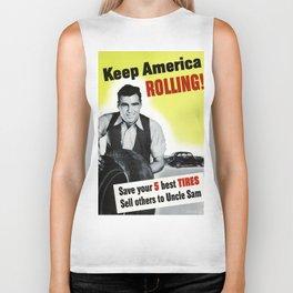 Keep America Rolling Biker Tank