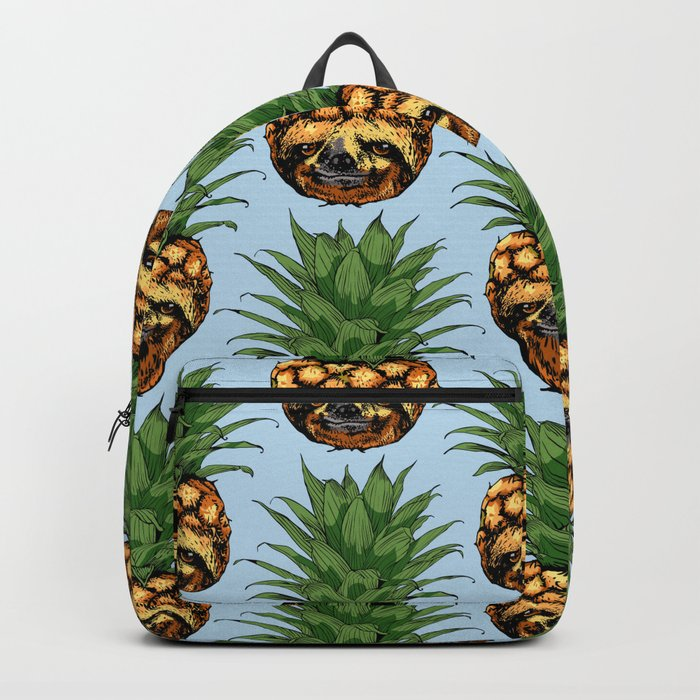 Pineapple Sloth Backpack