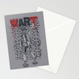 Make Art Not War Stationery Cards