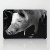 pigs iPad Cases featuring Pigs by Michael Bou-Nacklie