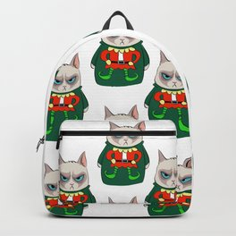GC in Holiday Sweater 05 Backpack