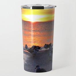 Shore Birds Travel Mug