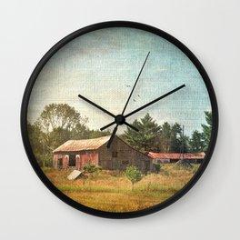 Rural Landscape #1 Wall Clock