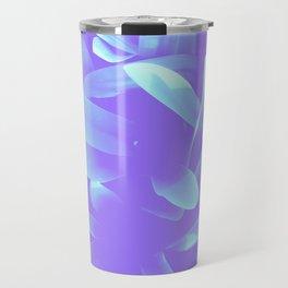 Elegance, Blue Travel Mug