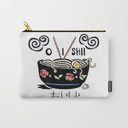 OISHII Noodle Bowl Carry-All Pouch