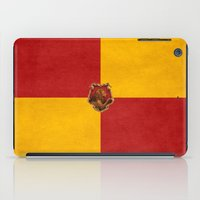 iphone 5 case iPad Cases featuring Gryffindor iPhone 4 4s 5 5c, pillow, case by neutrone