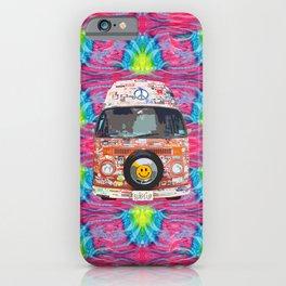 Groovy Hippie Van iPhone Case