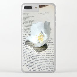 Flowers and the Canto Clear iPhone Case