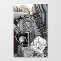 andreas preis Canvas Prints featuring San Andreas by Ira Carter