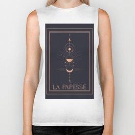 La Papesse or The High Priestess Tarot Biker Tank