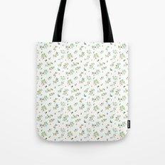 orange - subtle pattern Tote Bag