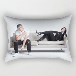 Demi and Nick #1 Rectangular Pillow