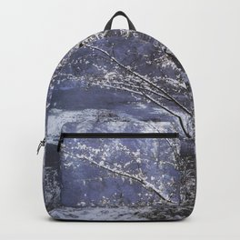 Snow Flowers Whimsy Backpack